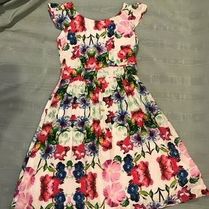 Gorgeous Emily and Fin Floral A-line Dress